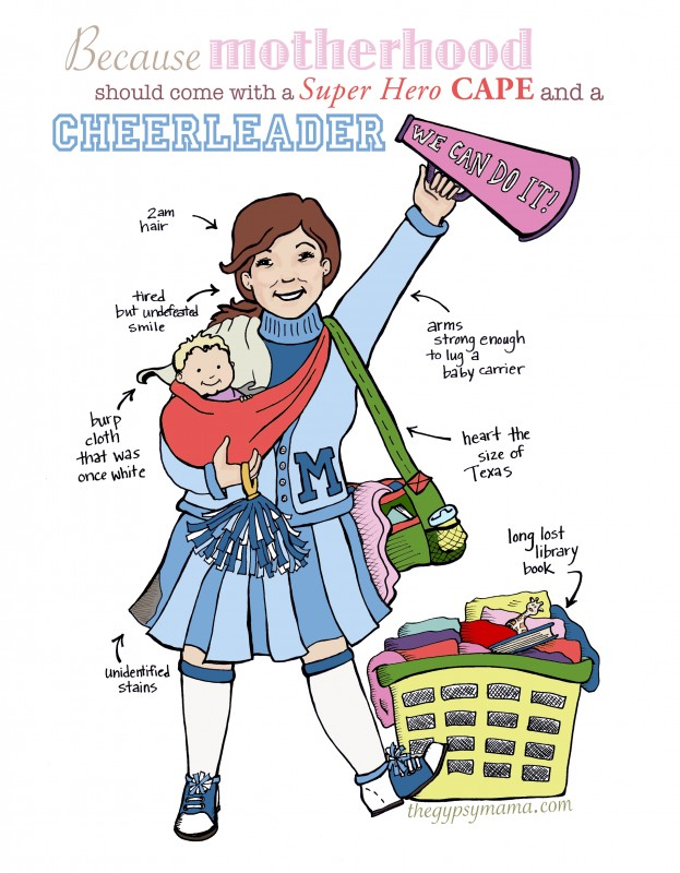 The cheerleader for tired moms a free printable ebook the cheerleader for tired moms a free printable ebook announcement fandeluxe PDF