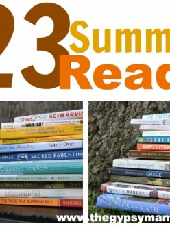 23 Summer Reads – a reading list for lazy days