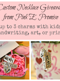 Pink E Promise mother's day giveaway via lisa-jo baker