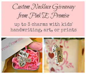 Pink E Promise mother's day giveaway via lisa-jo baker
