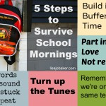 5 ways we survive school mornings