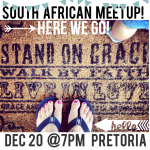 A South African meet up on December 20!