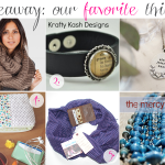 Giveaway: A few of my favorite things
