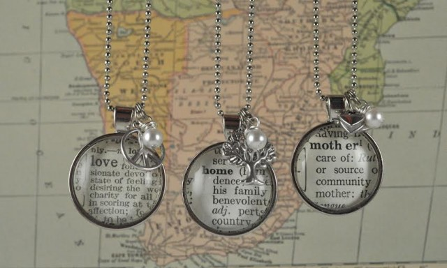 KraftyKash one word necklaces