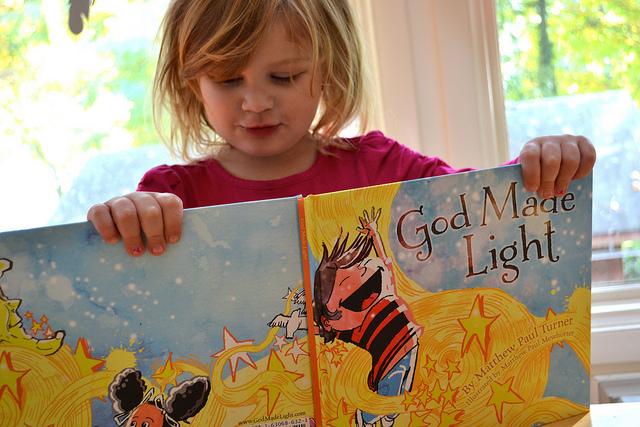 God Made Light via lisajobaker
