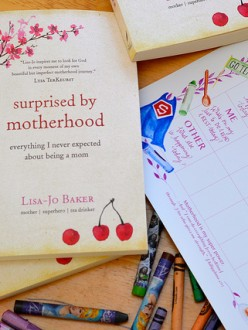 Free Mom's Weekly Planning Calendar with Purchase of my Book