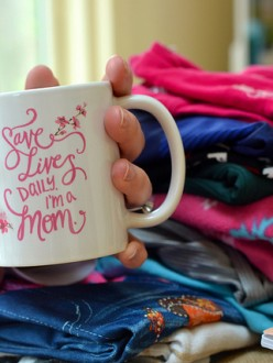 Custom Mother's Day Mugs and T-Shirts to Remind us that We Save Lives Daily – Because We're Moms!