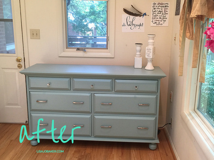 My First Time Painting Furniture Aka If I Can Do It Anyone Can - Update old bedroom furniture