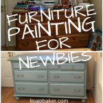 My First Time Painting Furniture – aka – If I Can Do It, Anyone Can!