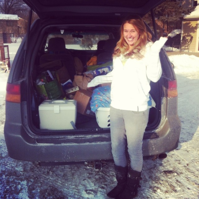 1. packed car