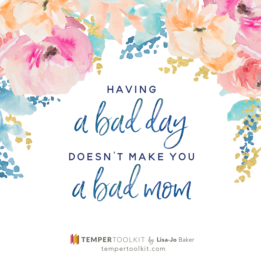 Temper Toolkit – Having a Bad Day Color
