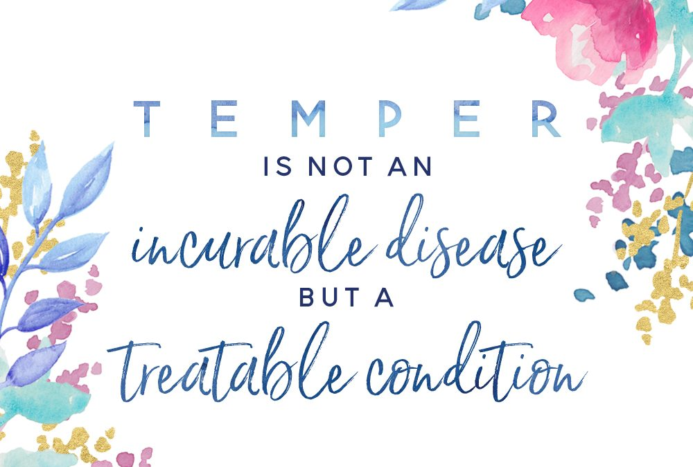 Temper Toolkit – not an incurable disease – Color
