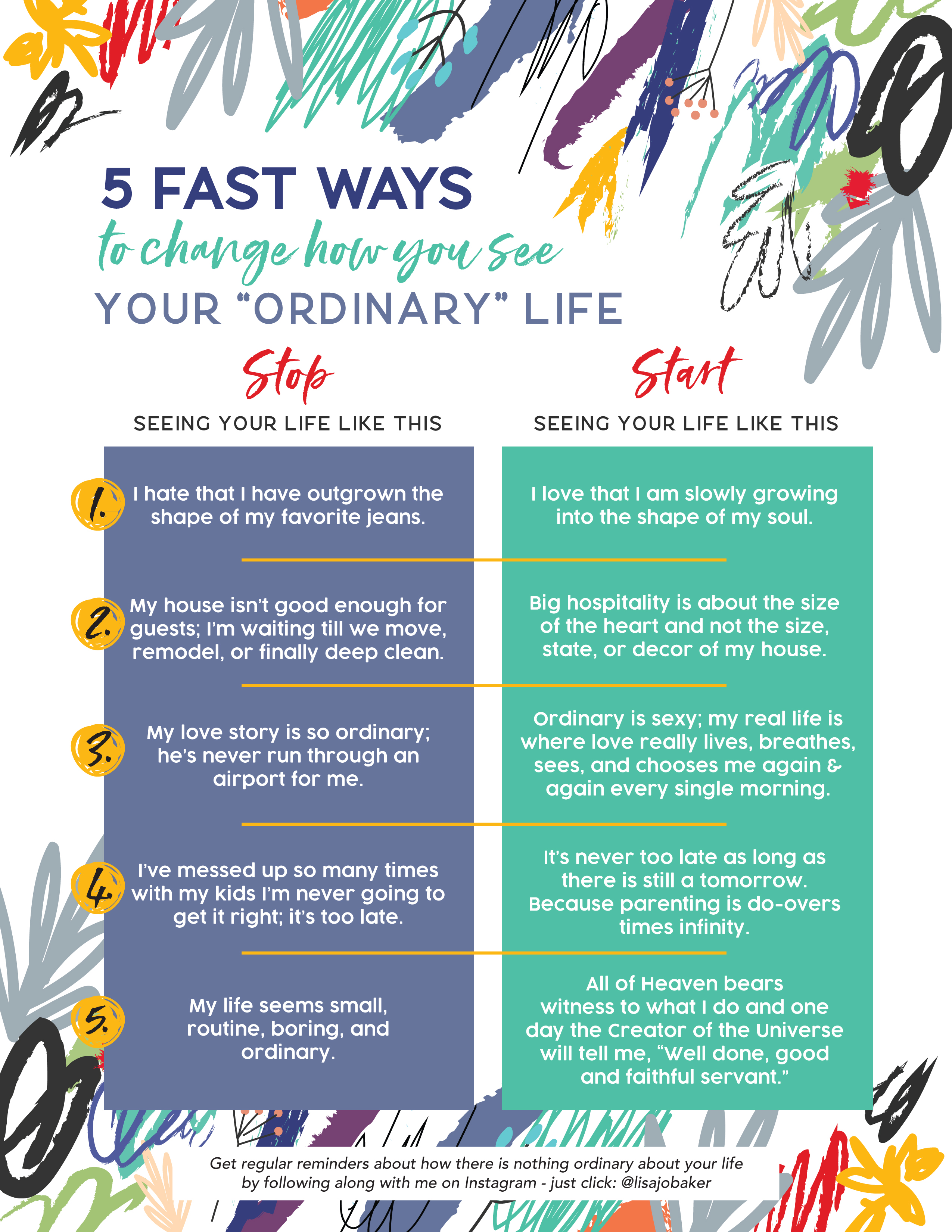 """5 Fast Ways to Change How You See Your """"Ordinary"""" Life"""